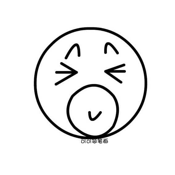 表情 卡通简笔画表情 第1页 一起QQ网 表情