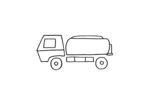表情 儿童简笔画洒水车的画法简笔画大全千千简笔画图片教程 表情