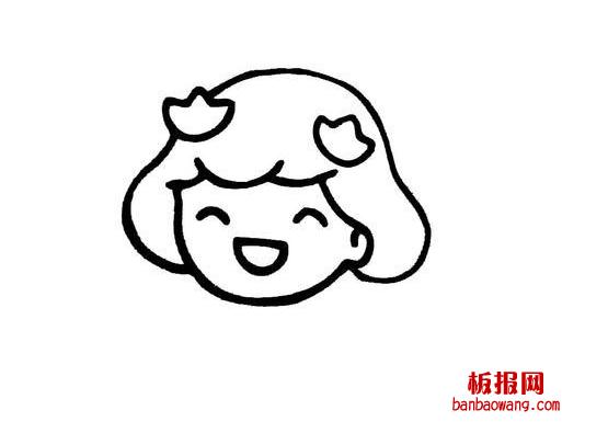 表情 可爱卡通表情简笔画 表情图片