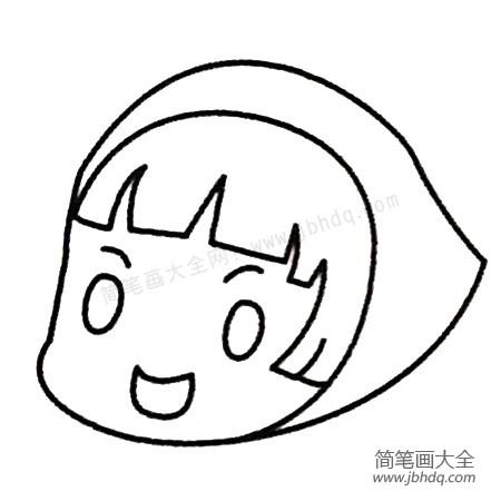 表情 小红帽简笔画大全及画法步骤 动漫人物简笔画 简笔画大全 表情