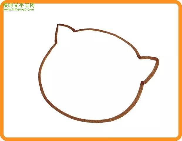 表情 小猫钓鱼幼儿简笔画彩色,小猫钓鱼简笔画过程图 儿童画教程 慢时光手工网 表情