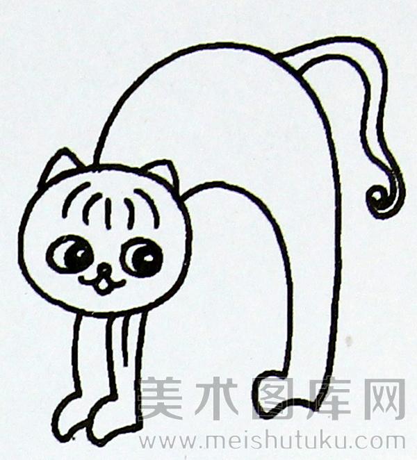 表情 简笔画猫我想学简笔画的猫,可是网上搜不到图片, 表情