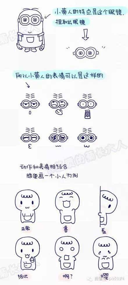 表情 超可爱 画在日记里的手绘表情 搜狐其它 搜狐网 表情