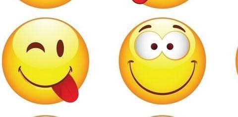 表情 笔画笑脸表情图片 表情