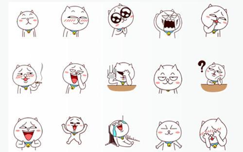 表情 最新嗷大喵qq表情含义图解 新qq表情的含义和图解 表情