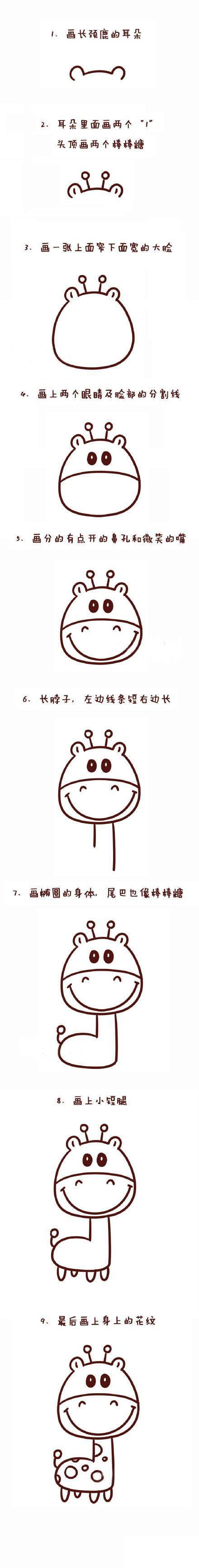表情 简笔画也能惟妙惟肖,9种萌萌哒动物简笔画 搜狐母婴 搜狐网 表情