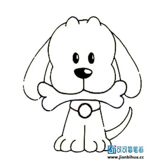 表情 骨头的简笔画简笔画表情狗的简笔画简笔画人物幼儿简笔画 表情