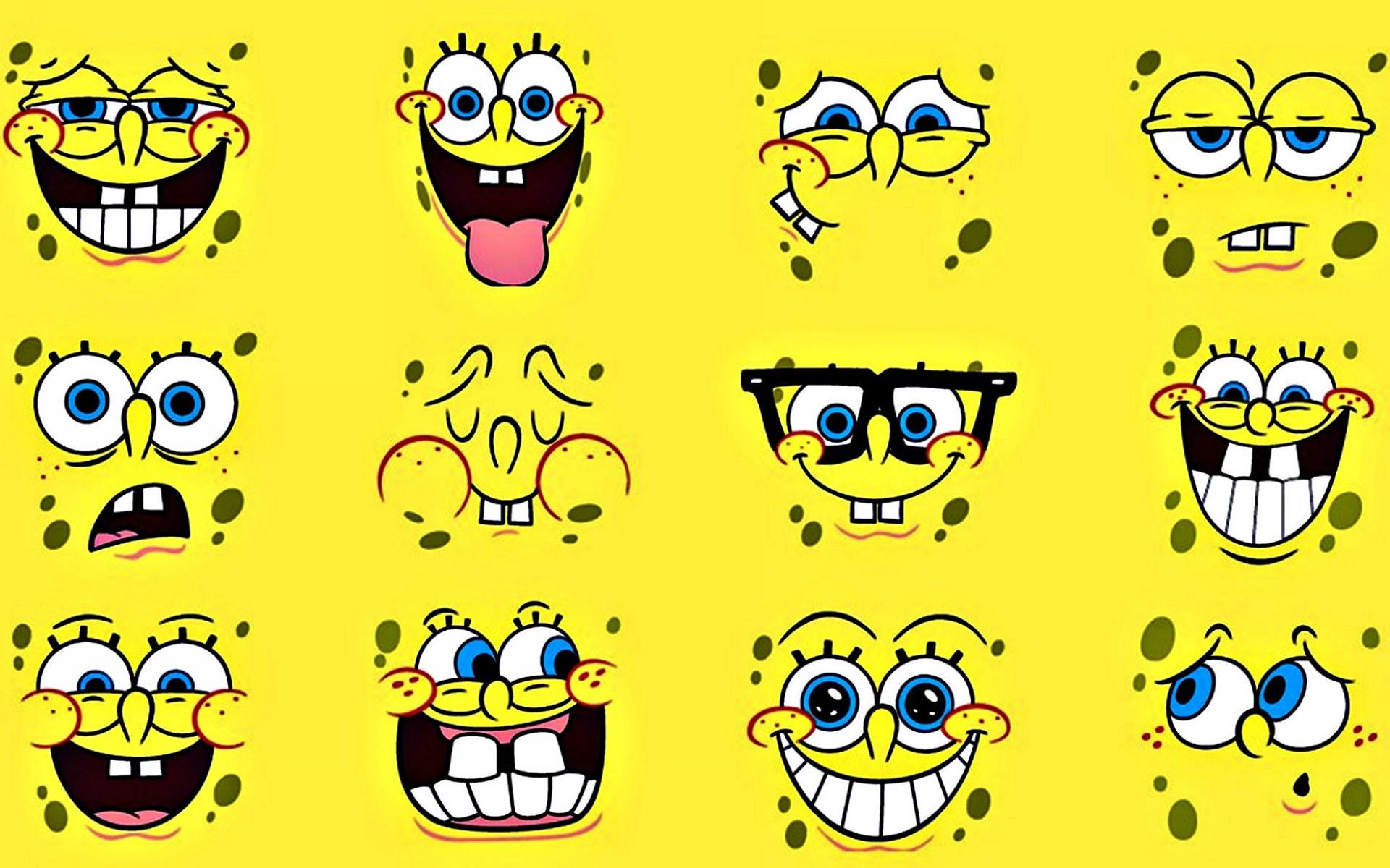 表情 黄色方块海绵海绵宝宝高清电脑壁纸下载 2 动漫新闻 动漫论坛 动漫美图  表情