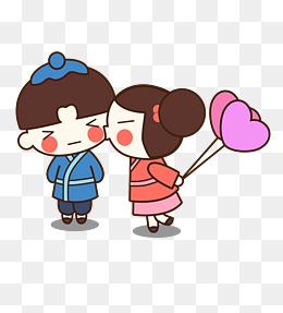 表情 情人节卡通小人素材 免费下载 情人节卡通小人图片大全 千库网png 表情
