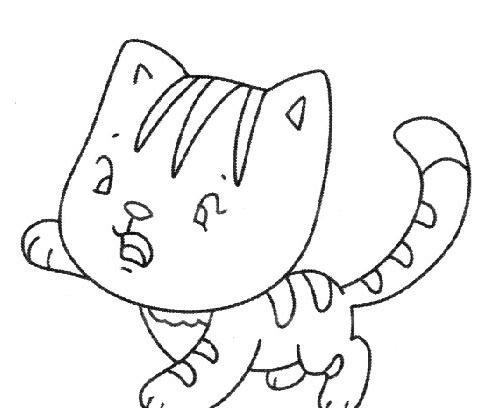表情 猫的简笔画图片大全 可爱的小猫简笔画 冠军娱乐注册送38,冠军娱乐官方  表情
