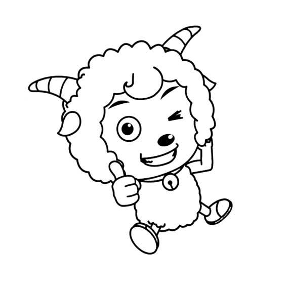 表情 喜羊羊与灰太狼简笔画图片大全 可可简笔画 表情