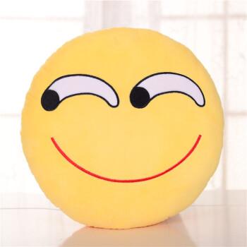 表情 表情包抱枕表情可插手emoji毛绒玩具公仔滑稽笑脸娃娃玩偶靠垫圆老滑稽  表情