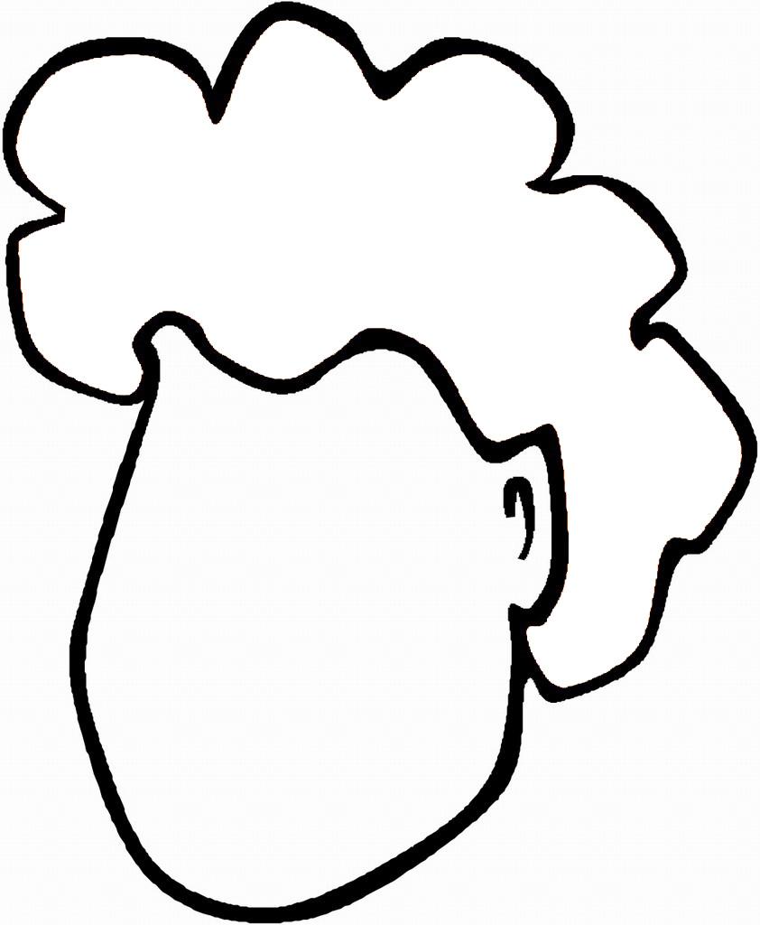 表情 人体五官头发简笔画 人物简笔画大全 美术必学课 表情
