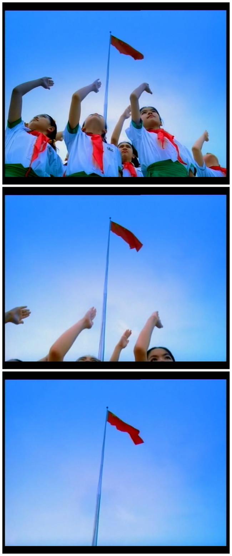 表情 升国旗敬礼图片 小学生升国旗,敬礼简笔画 升国旗要敬礼对师长的手抄报  表情