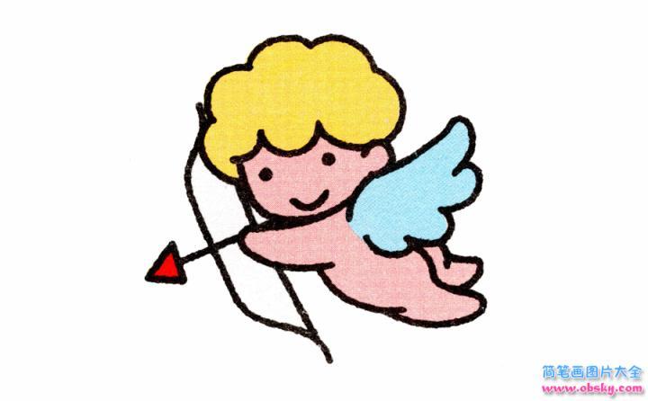 表情 天使简笔画画法 怎么画天使的简笔画 简笔画人物 儿童简笔画图片大全 表情