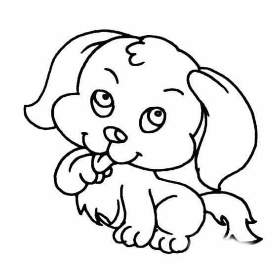 表情 可爱狗狗图片萌萌哒 12张 可爱图片 表白句 表情