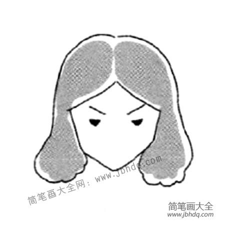 表情 生气的表情简笔画教程 表情图片 简笔画大全 表情