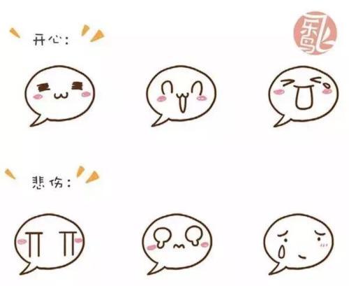 表情 表情简笔画 搞笑简笔画表情 简笔画小人表情包 可爱简笔画手绘表情包 宝宝  表情