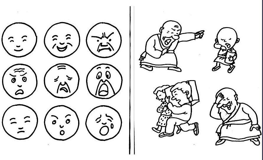 表情 小孩子表情简笔画图片大全 小孩子表情简笔画图片大全分享 表情