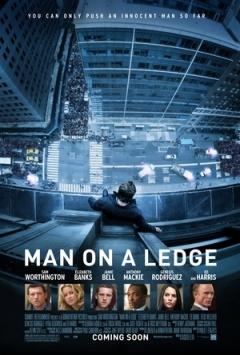 窗台上的男人
