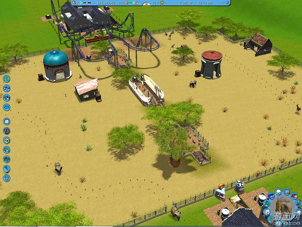 过山车大亨3:水上乐园 野生动物园