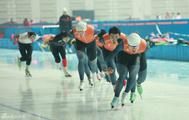 大冬会速滑队训练备战