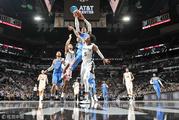 NBA常规赛:雷霆-马刺