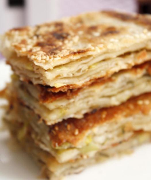 芝麻葱油千层饼怎么做?