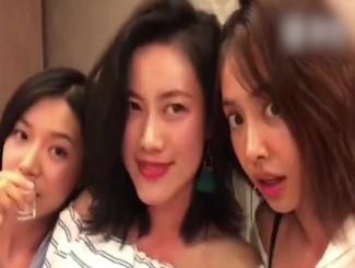 蔡依林与姐妹淘自拍 挖鼻孔翻白眼无偶像包袱