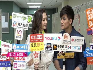 与王君馨重聚TVB综艺节目 伍允龙:给我介绍女朋友!
