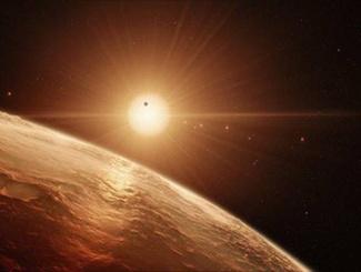 """NASA公布新发现 40光年外还有一个""""太阳系"""""""