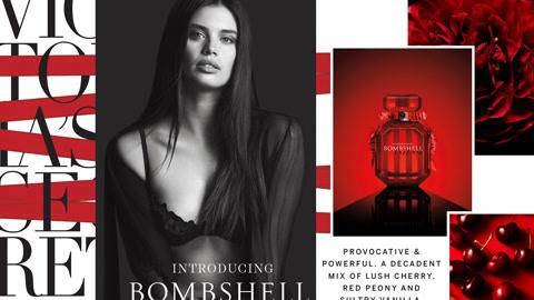 维密全新Bombshell香水广告