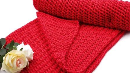 情人扣围巾的织法 110