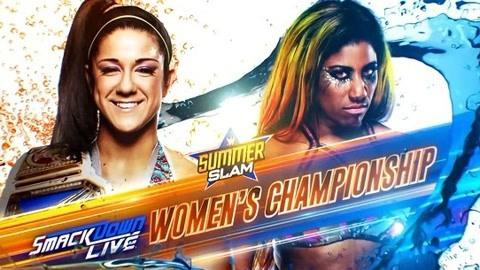 WWE夏日狂潮 比莉VS安珀·沐恩