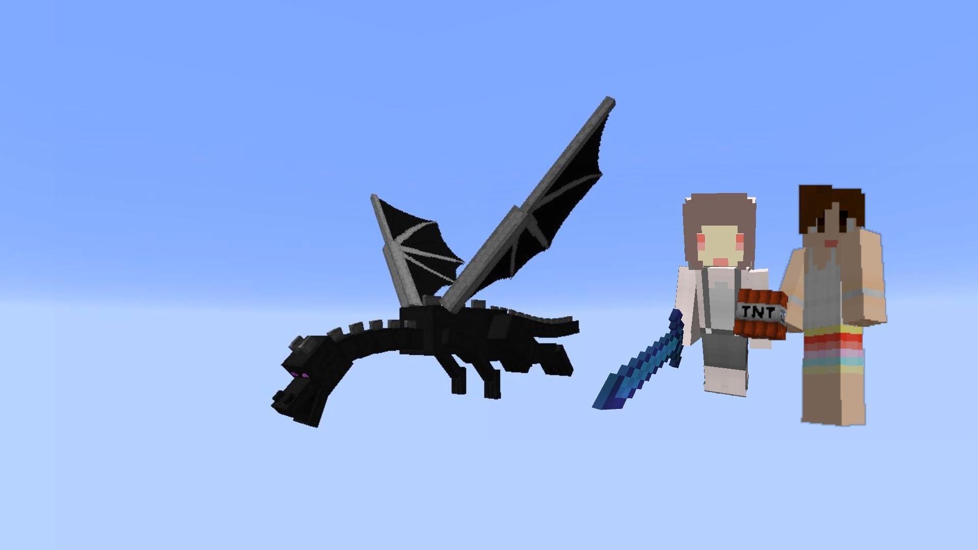 我的世界【明月庄主小兔子】EP39庄兔战黑龙Minecraft
