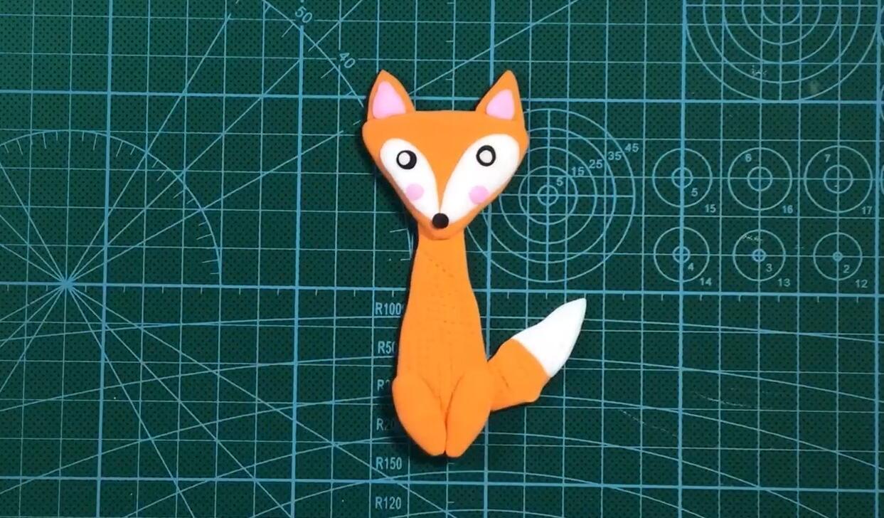 【可乐姐姐做手工】手工粘土小狐狸