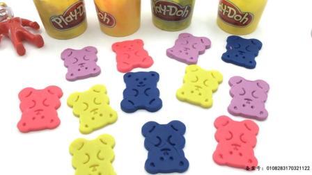 迪迦奥特曼玩可爱小熊橡皮泥玩具 19