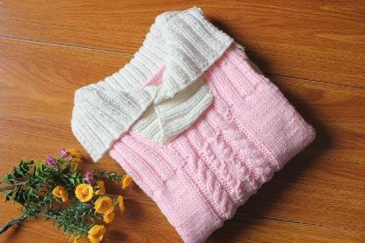宝宝围巾帽子毛衣编织