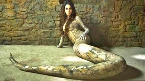少女吃蛇蛋变异成美女蛇