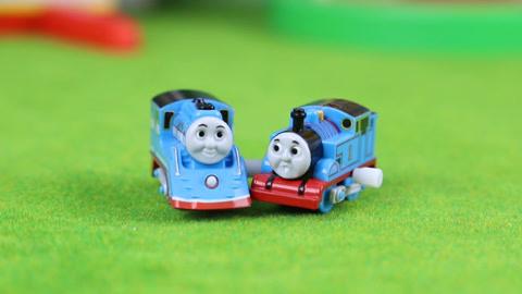 托马斯:托马斯流线型托马斯蓄力小火车分享