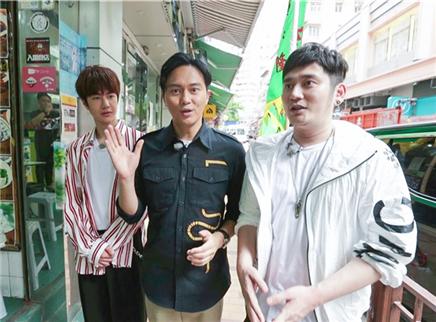 张智霖香港街头变最帅导游