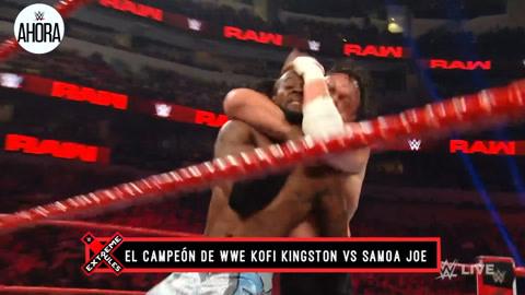 WWE本周看点 科菲大战小胖乔伊