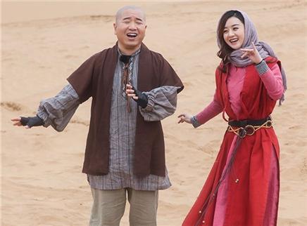 第5期:赵丽颖王小利沙漠斗舞
