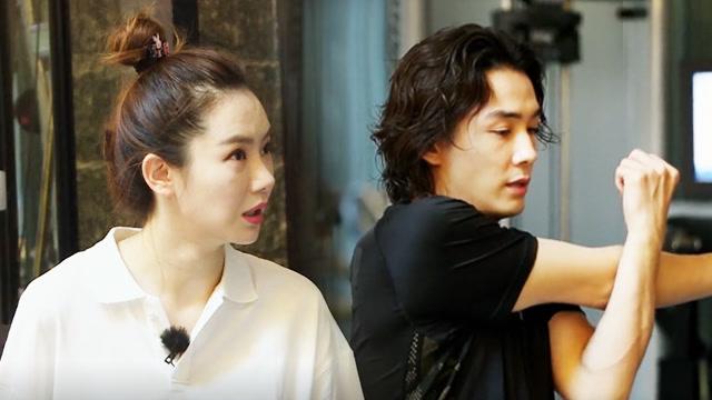 第9期:李承铉带戚薇健身做深蹲