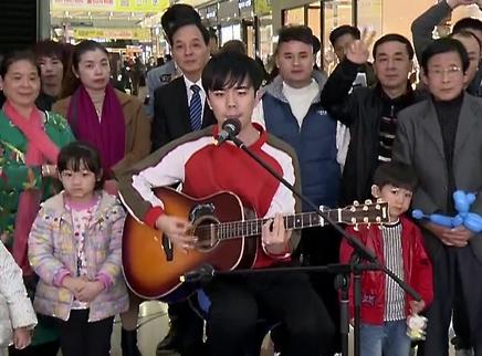 腼腆小哥吉他弹唱原创歌曲
