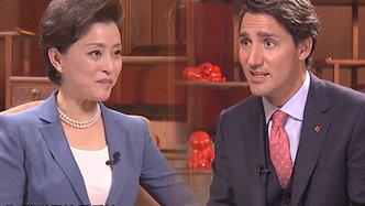 杨澜专访加拿大总统特鲁多