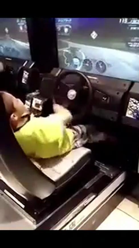 小朋友你车技这么神