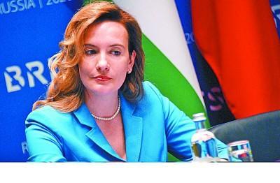 俄羅斯金磚國傢輪值主席國籌備和保障委員會專傢委員會主席 維多利亞·帕諾娃