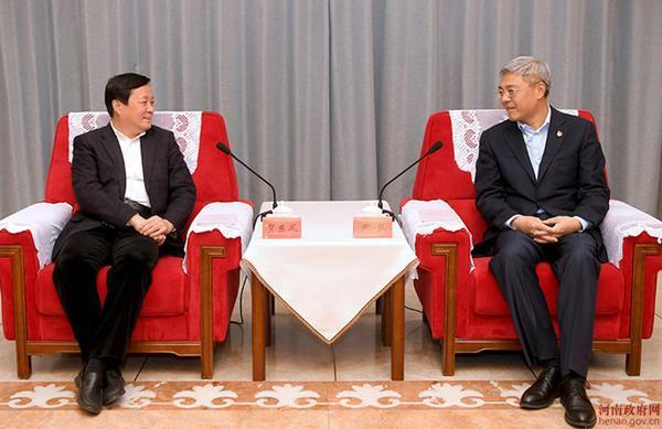 尹弘與中國商飛董事長賀東風會談
