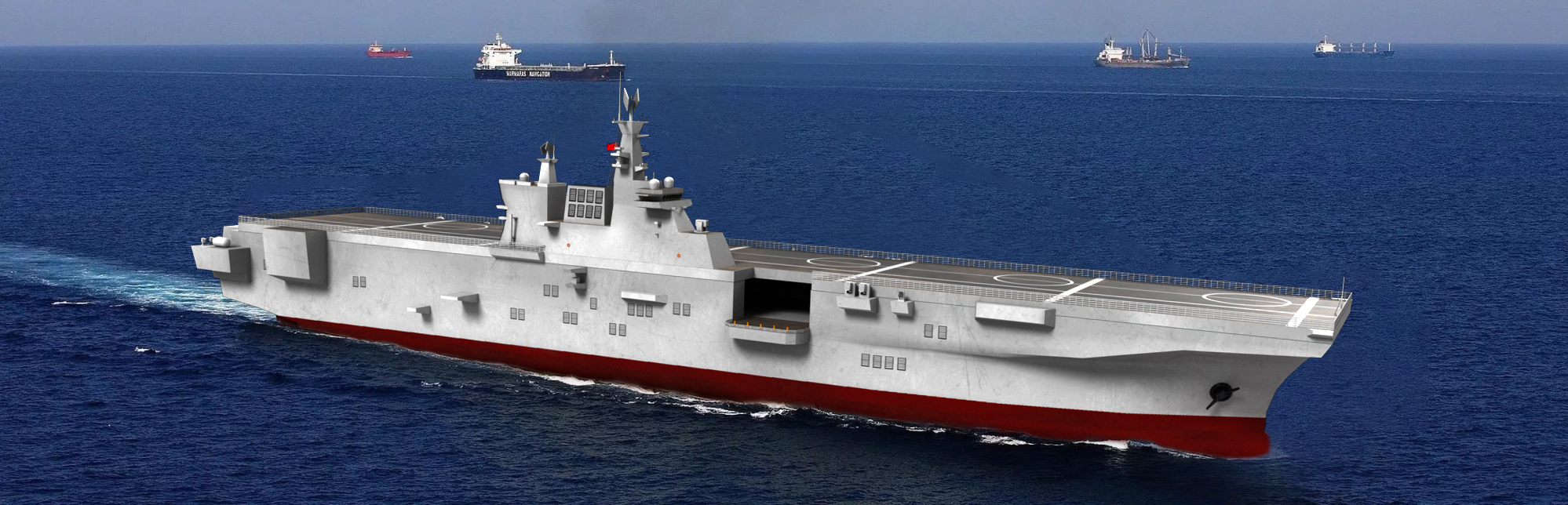 075二號艦今日出動,比首艦快71天,能打破中國紀錄的,隻有中國!